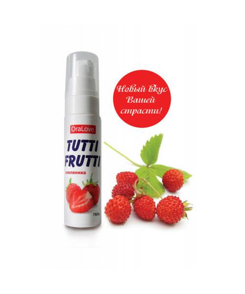 Съедобная гель-смазка «Tutti-Frutti» для орального секса Краснодар